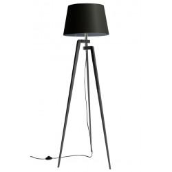 Czarna lampa sztalugowa LW21