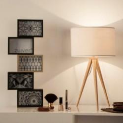 Lampa-stołowa-wood-white-zuiver