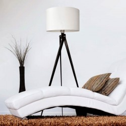 Lampa tripod black&white LW14