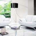 Lampa tripod white&black LW14